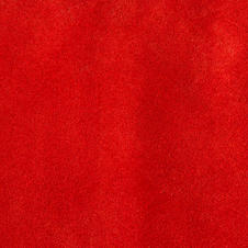 SUEDE LEATHER RED
