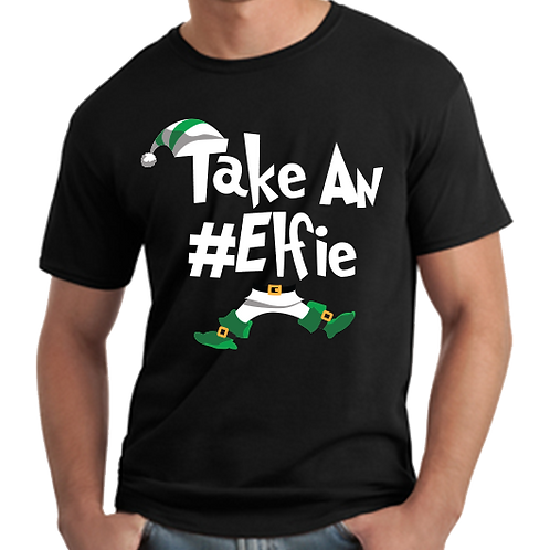 Take An Elfie Jersey Short Sleeve Tee