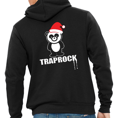 Santa Panda Zip Hoodie