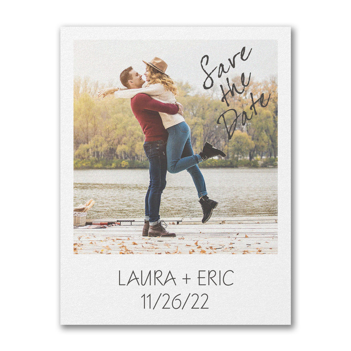 Our Bond - Save the Date Postcard