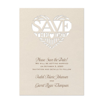 Paper Pattern - Save the Date
