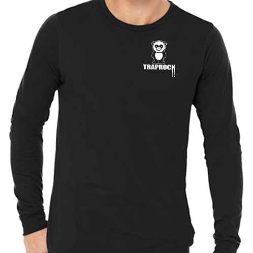Panda Left Chest Long Sleeve