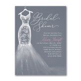 Party Dress - Bridal Shower Invitation