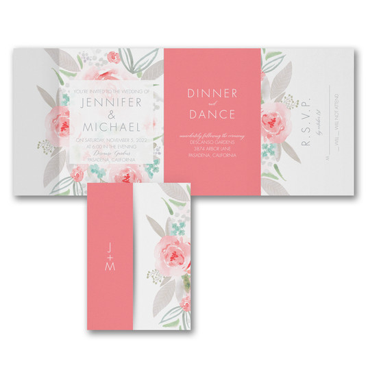 Botanical Bliss - All 'n One Invitation