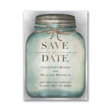 Country Style - Save The Date Magnet