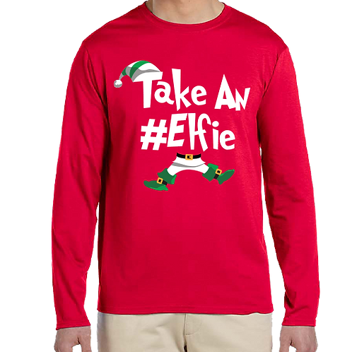 Take An Elfie Long Sleeve
