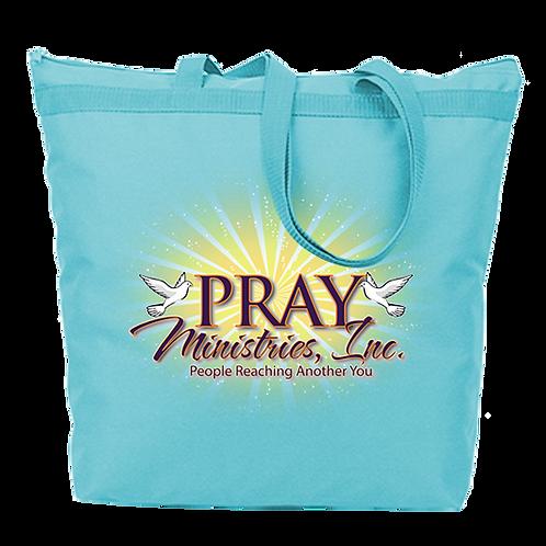 Pray Ministries Large Tote Bag