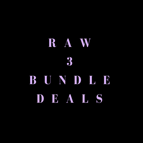Raw 3 Bundle Deals