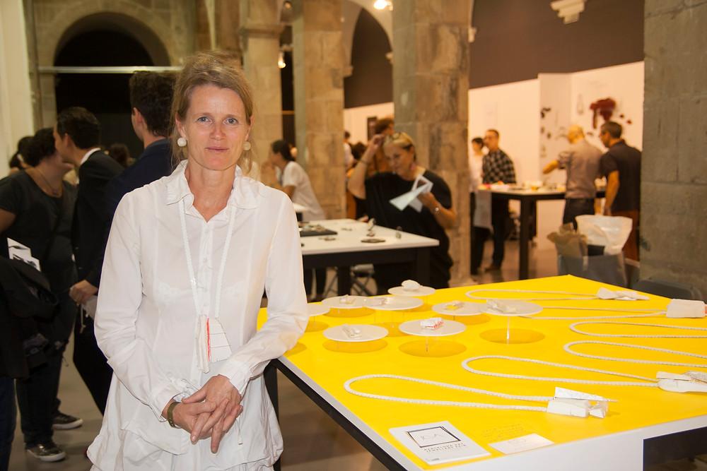 Katja Toporski, winner of Autor prize