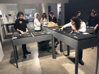 İstanbul'daki ilk sergimiz ECNP Galeri'de