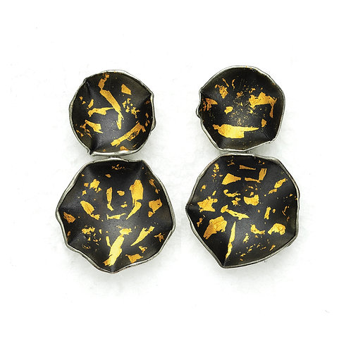 Flora Dangle Silver Earrings 24KDetails