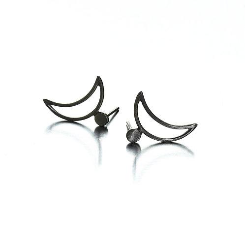 Moon mini earrings
