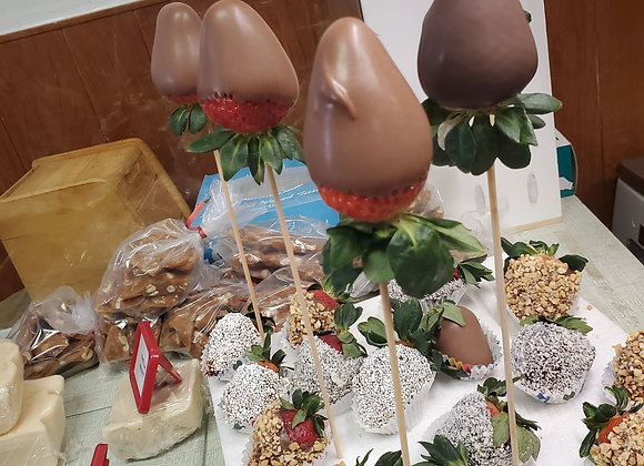 Made for your Chocolate Covered Strawberries