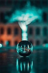 selective-focus-photography-of-lensball-