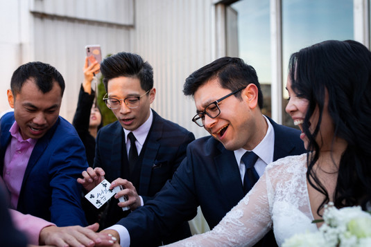 Magicians are always a great idea at your wedding!