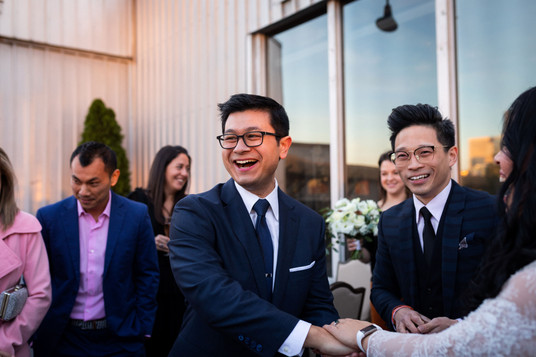 Magician Nash Fung at the cocktail hour