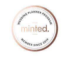 Minted Wedding Planner Program 2019