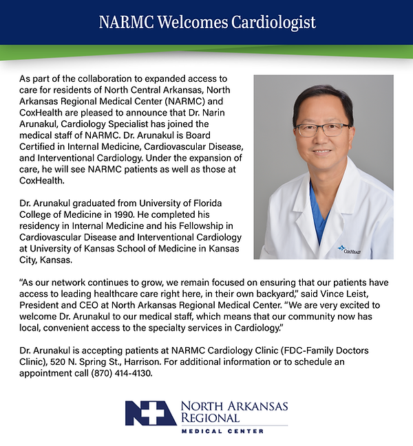 NARMC Welcomes Cardiologist.png