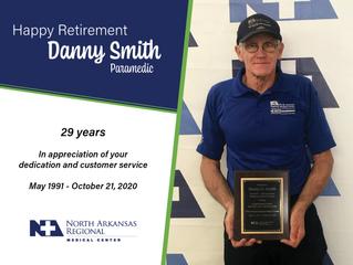 Congratulations Danny!