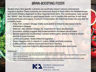 Brain Boosting Foods