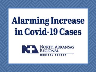 Alarming Increase in Covid-19 Cases