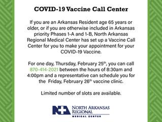 Vaccine Call Center