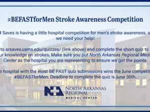 #BEFASTforMen Stroke Awareness Competition