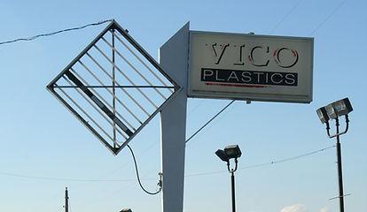Vico Plastics Old Sign