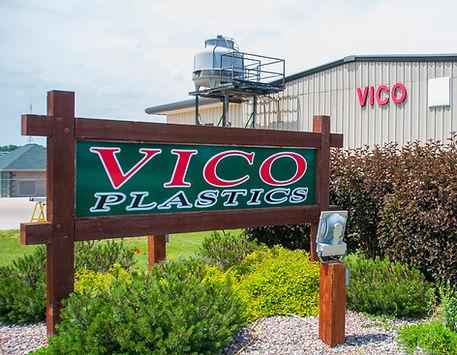 Vico Plastic New Sign