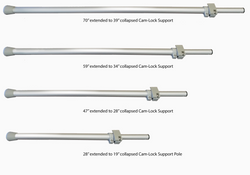 70 to 28 Support pole sizes PNG