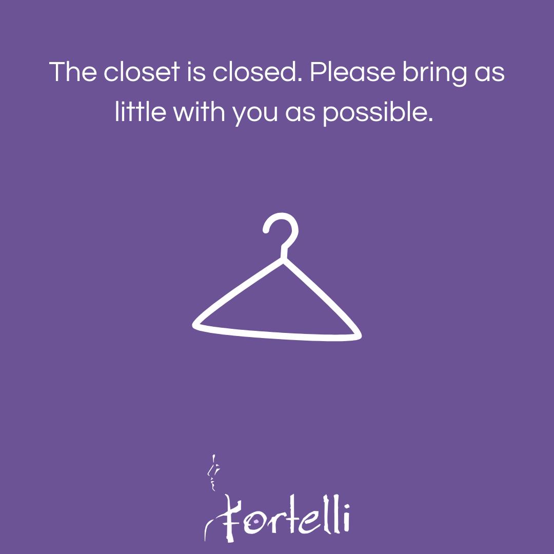 Closet is Closed