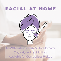 Lifting Mini Facial at Home Kit $49.50