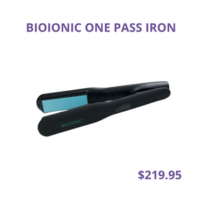 One Pass Iron $219.95