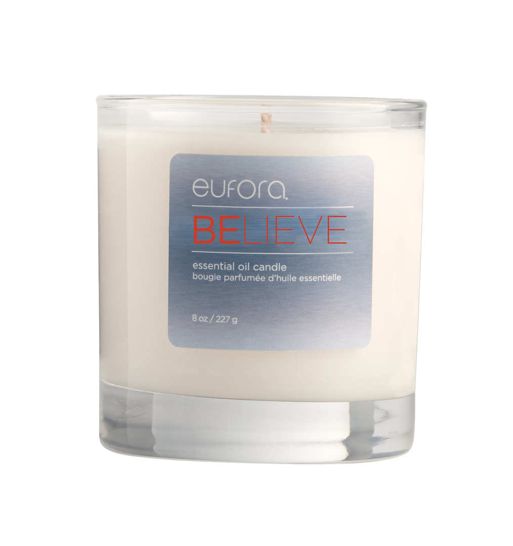 Eufora BELIEVE Candle $19.95