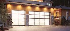 full glass garage door