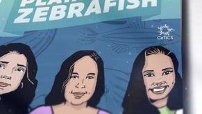 Projeto da FAPESP lança gibi sobre criação e manejo do peixe Zebrafish