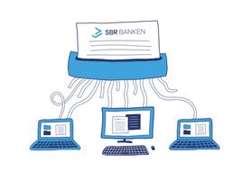 Blog illustration - SBR Banken