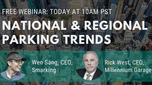 Webinar: State of the Parking Industry: National & Regional Trends