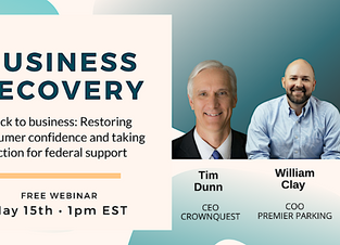 Upcoming Webinar: Workplace Recovery for American Businesses
