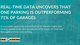 Real-Time Data Shows that One Parking is Outperforming 71% of Garages