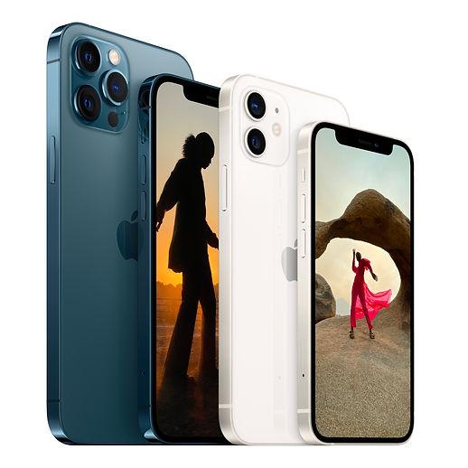 Apple iPhone 12 iPhone 12 mini iPhone 12 Pro