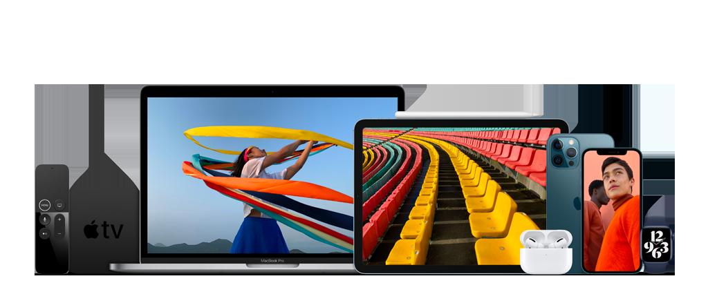 apple-iphone 12 -ipad-macbook air -macbook pro