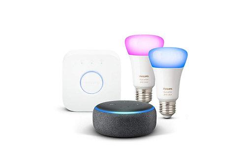 Philips Hue White & Color +Echo Dot
