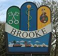 Brooke Village Sign