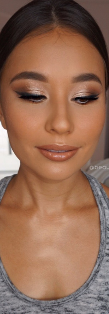 Glam Eyes + Flawless Complexion