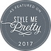 Style me pretty badge grey.png