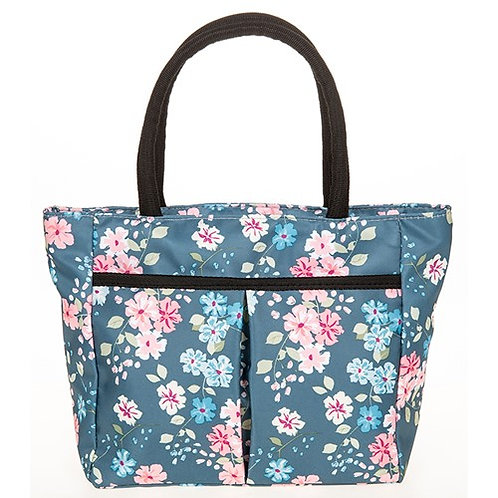 Blue chintz waterproof bag