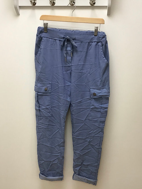 Magic Cargo Trousers With Pockets.