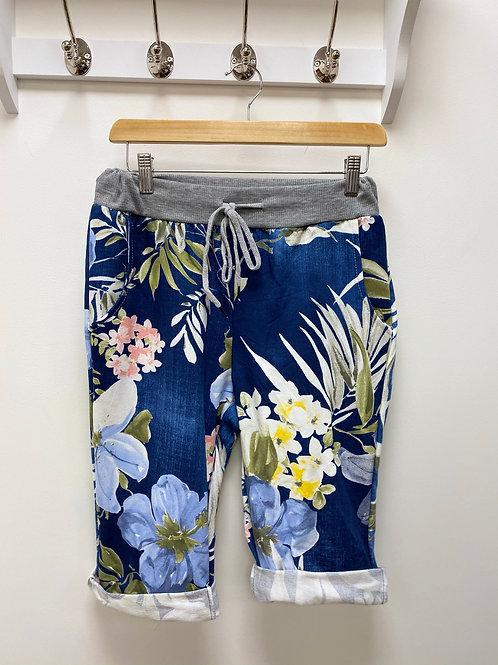Tropical Blue Magic Shorts