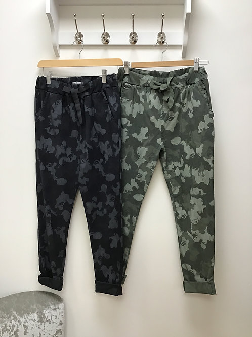 Camouflage Water Colour Magic Trousers